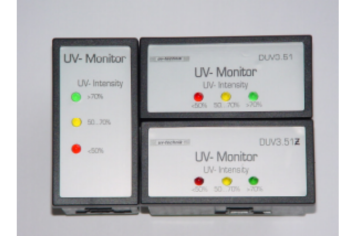 UV monitor DUV 3.51 and DUV 3.51Z